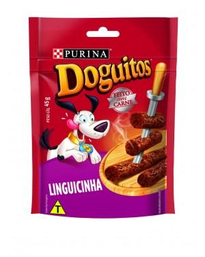 Ração Bifinho Doguitos Purina 65G Linguiça