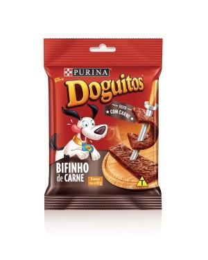 Ração Bifinho Carne Doguitos Purina 65g