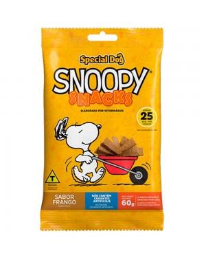 Ração Bifinho Snoopy Snack 60G Special Dog Frango