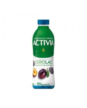 Iorgute Danone Activia Zero Lactose 1L Ameixa