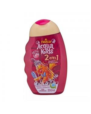 Shampoo Acqua Kids 2 em 1 Milk Shake Nazac 250ML