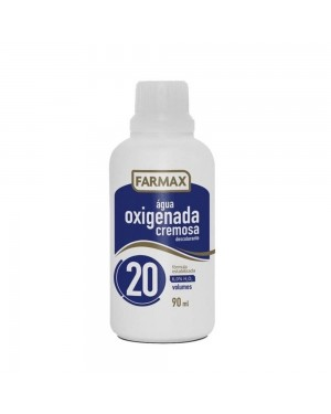 Agua Oxigenada Farmax 90ML Volume 20