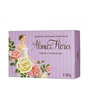 Sabonete Alma Flores 130g Finíssima essência Herbal
