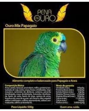 Ração Papagaio Ouro Mix 500g