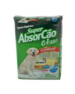 Tapete Colosso Higiênico para Cães 7unid