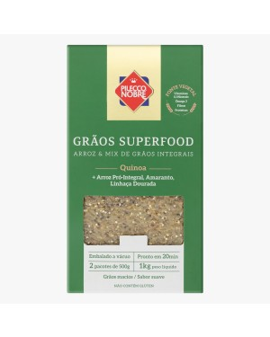 Arroz Pilecco Nobre 1kg Superfood Quinoa