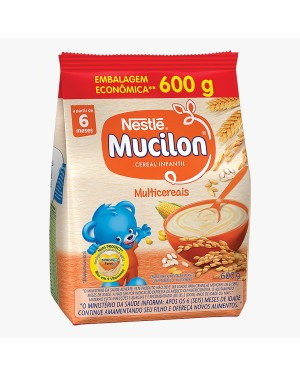 Cereal Mucilon Multi Cereais 600g Sache