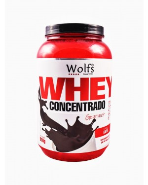 Whey Concent 80% Cafe Wolfs 910g