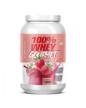 Whey Protein Gourmet Morango 900g