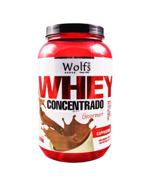 Whey Concent 80% Capuccino Wolfs 910g