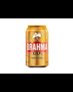 Cerveja Brahma 350ml Zero Lata